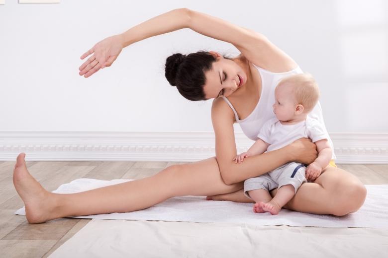 Baba-Mama jóga (kisbabás)