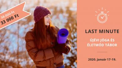 Újévi Jóga és Életmód Tábor a Börzsönyben – 2020. január 17-19.