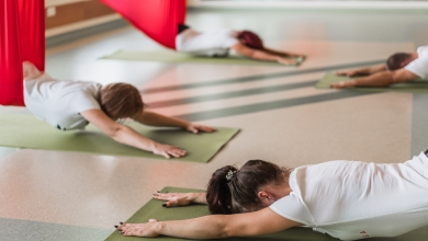 Restorative Aerial Jóga Workshop – november 10. 18:30-20:30